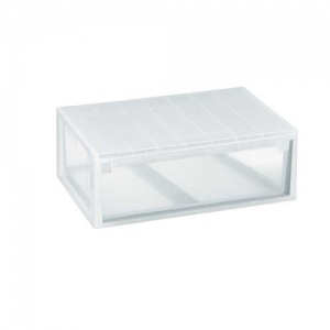 CAJA ORDENACION LIGHT DRAWER XL 36L.TRANSPARENTE